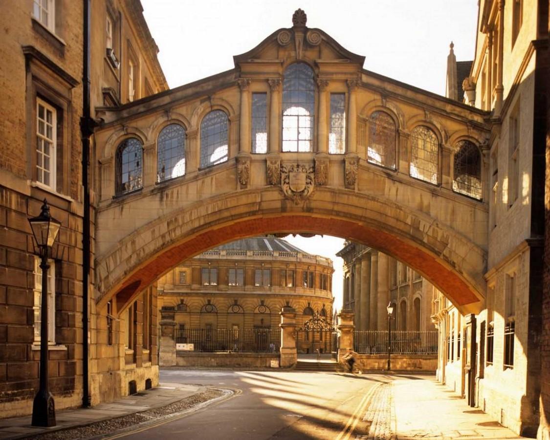 The Hertford Bridge, Oxford - Sheet1