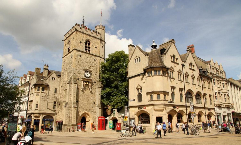 Carfax Tower, Oxford - Sheet1