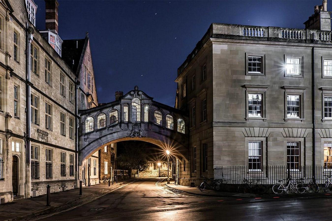 The Hertford Bridge, Oxford - Sheet2