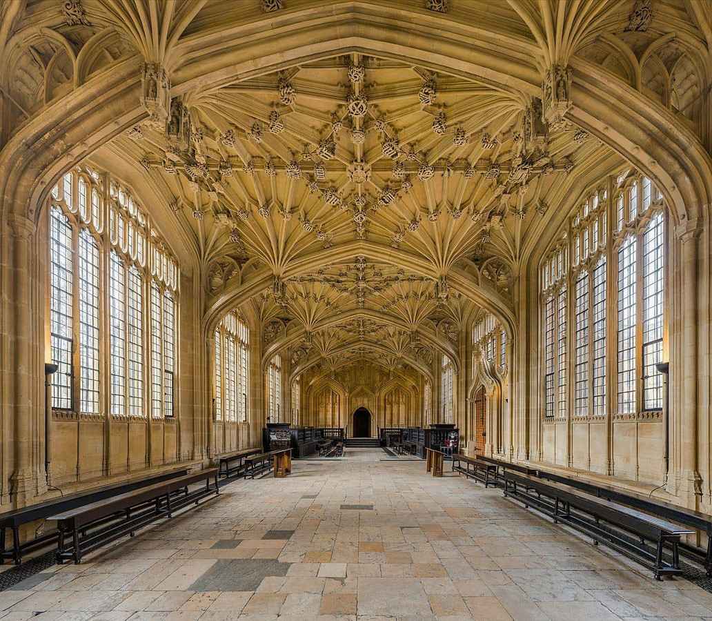 The Divinity School, Oxford - Sheet1