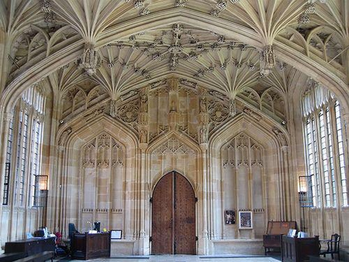 The Divinity School, Oxford - Sheet2