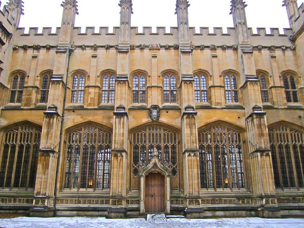 The Divinity School, Oxford - Sheet3