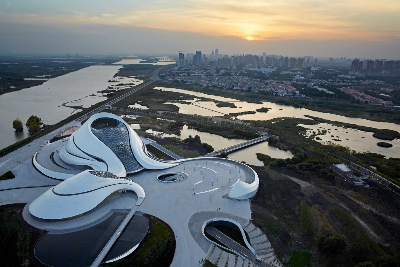 Harbin Opera House by MAD Architects: Design inspired by the surroundings - Sheet1
