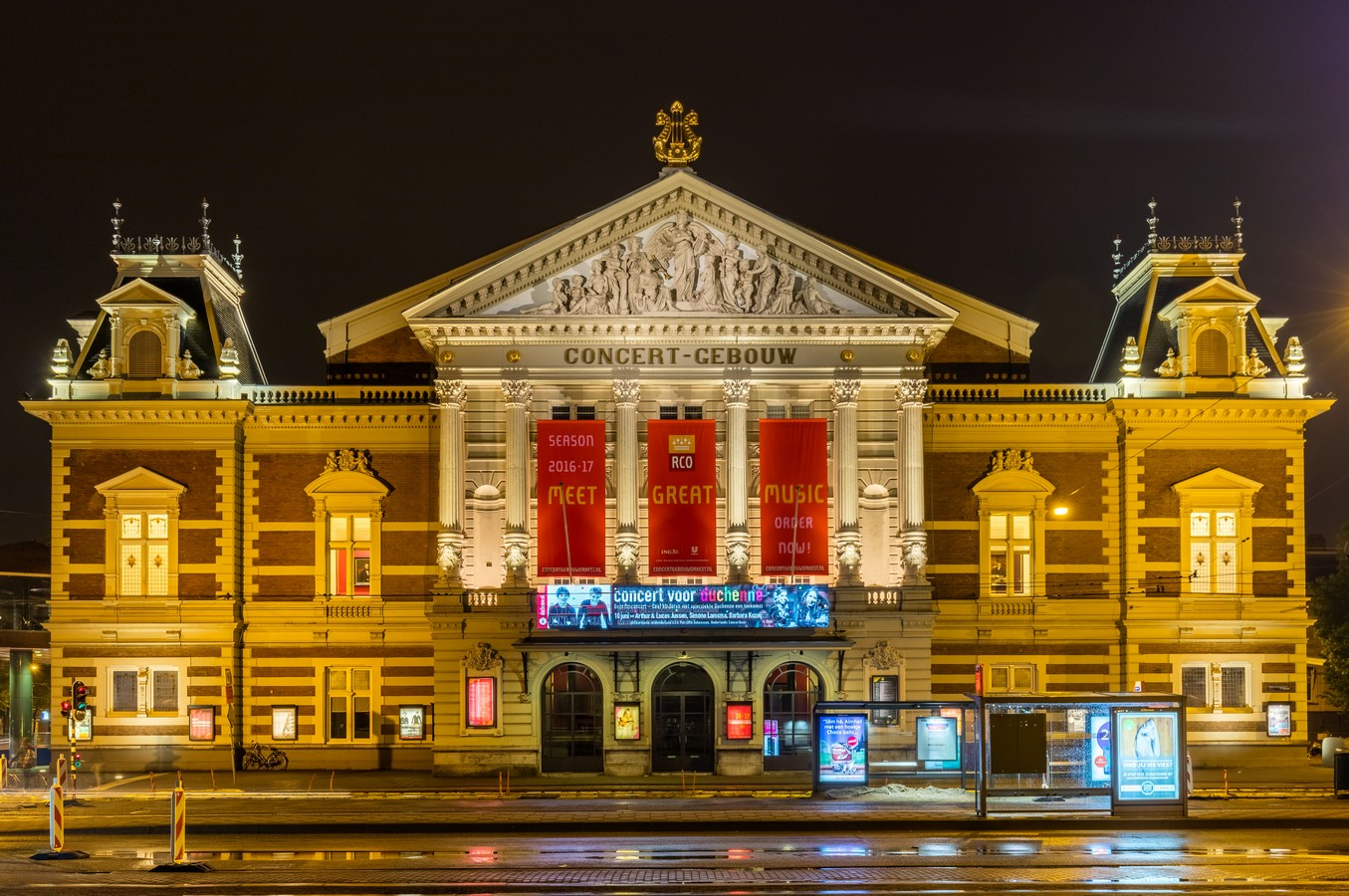 Concertgebouw in Amsterdam, Netherlands Applying acoustics without science - Sheet1