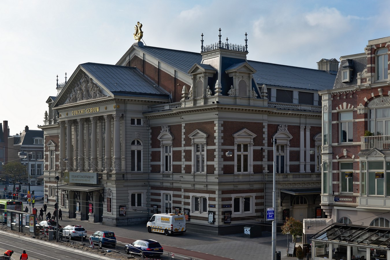 Concertgebouw in Amsterdam, Netherlands Applying acoustics without science - Sheet4