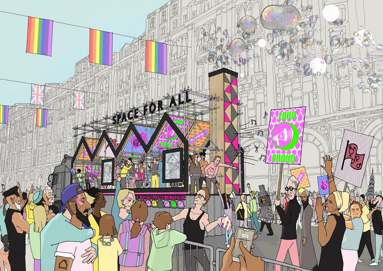 How is LGBT Community help build gender inclusive architecture - Sheet3