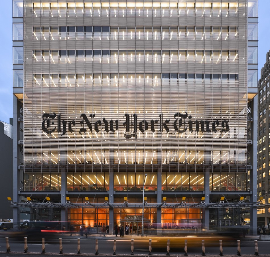 The New York Times Building by Renzo Piano: Inspired by the culture of transparency - Sheet9