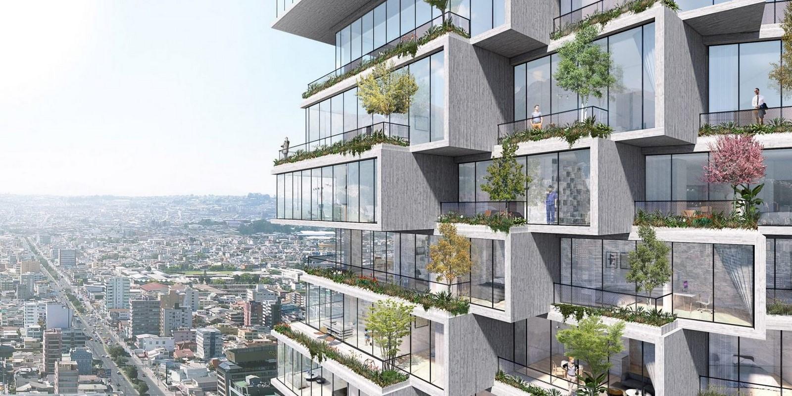 10 Examples of Innovative facade design solutions - Sheet21