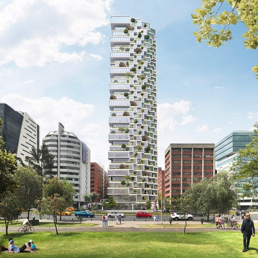 10 Examples of Innovative facade design solutions - Sheet22