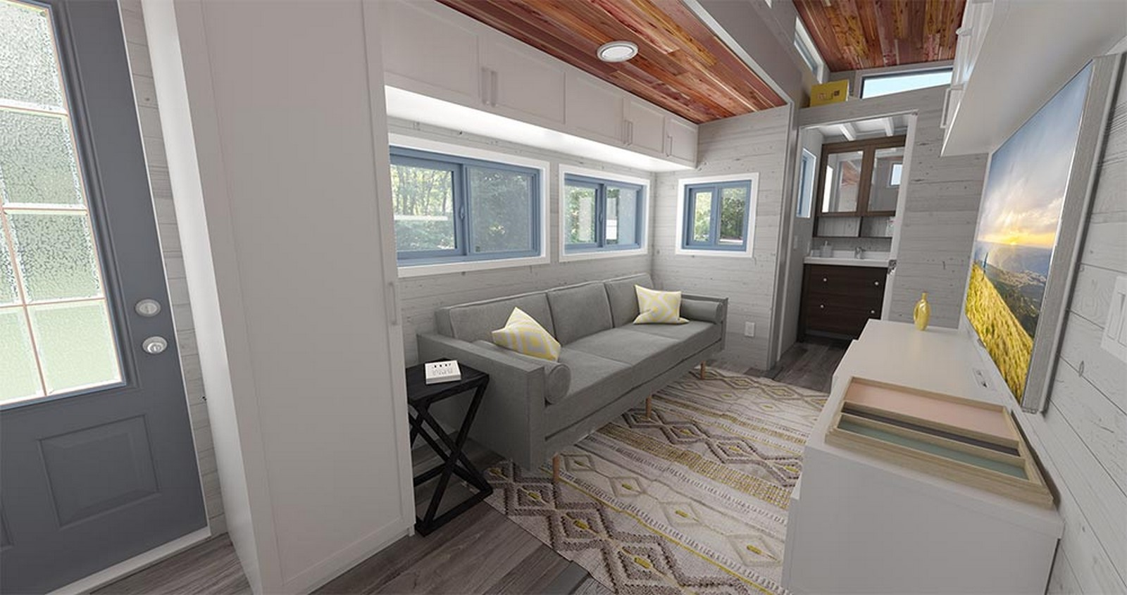 15 Examples of Tiny-home designs - Sheet2
