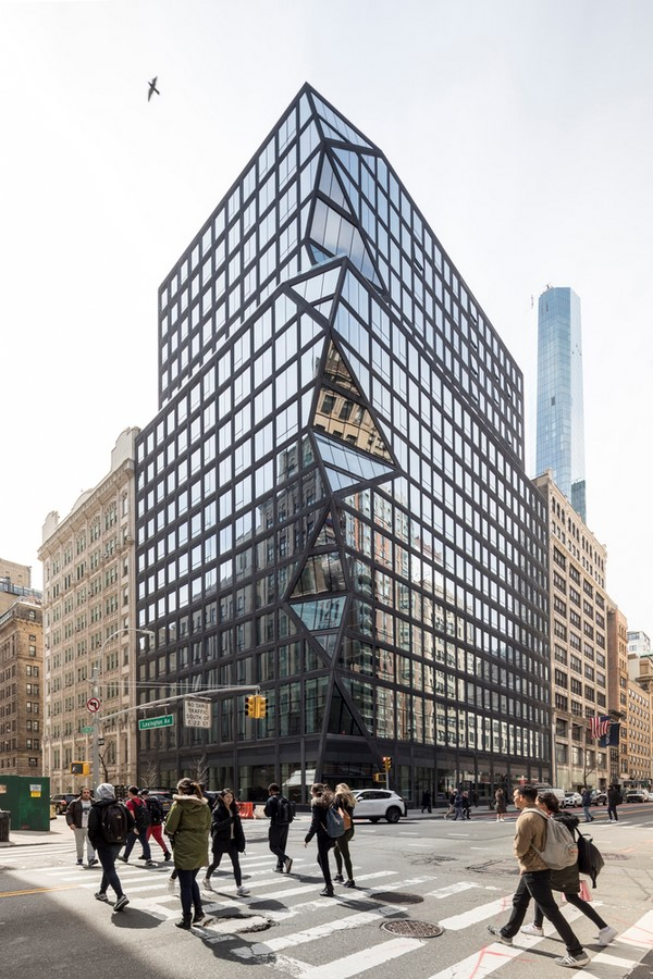 121 East 22nd by Rem Koolhaas: Merging history and modernity - Sheet1