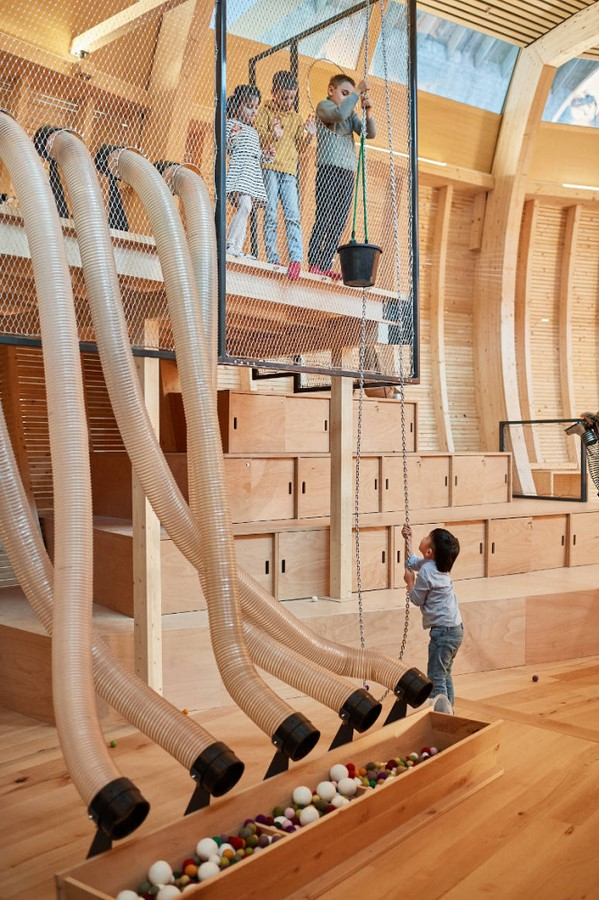 Noah's Ark Reinterpreted by Olson Kundig for Children's Experience at the Jewish Museum in Berlin - Sheet8