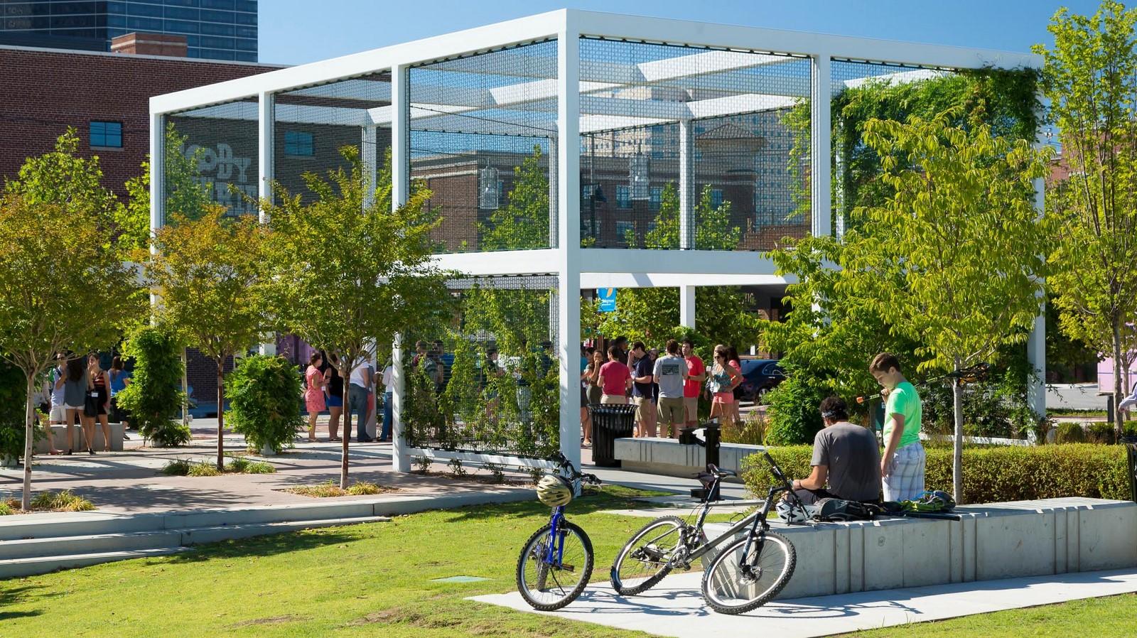 Guthrie Green Urban Park, Tulsa - Sheet2