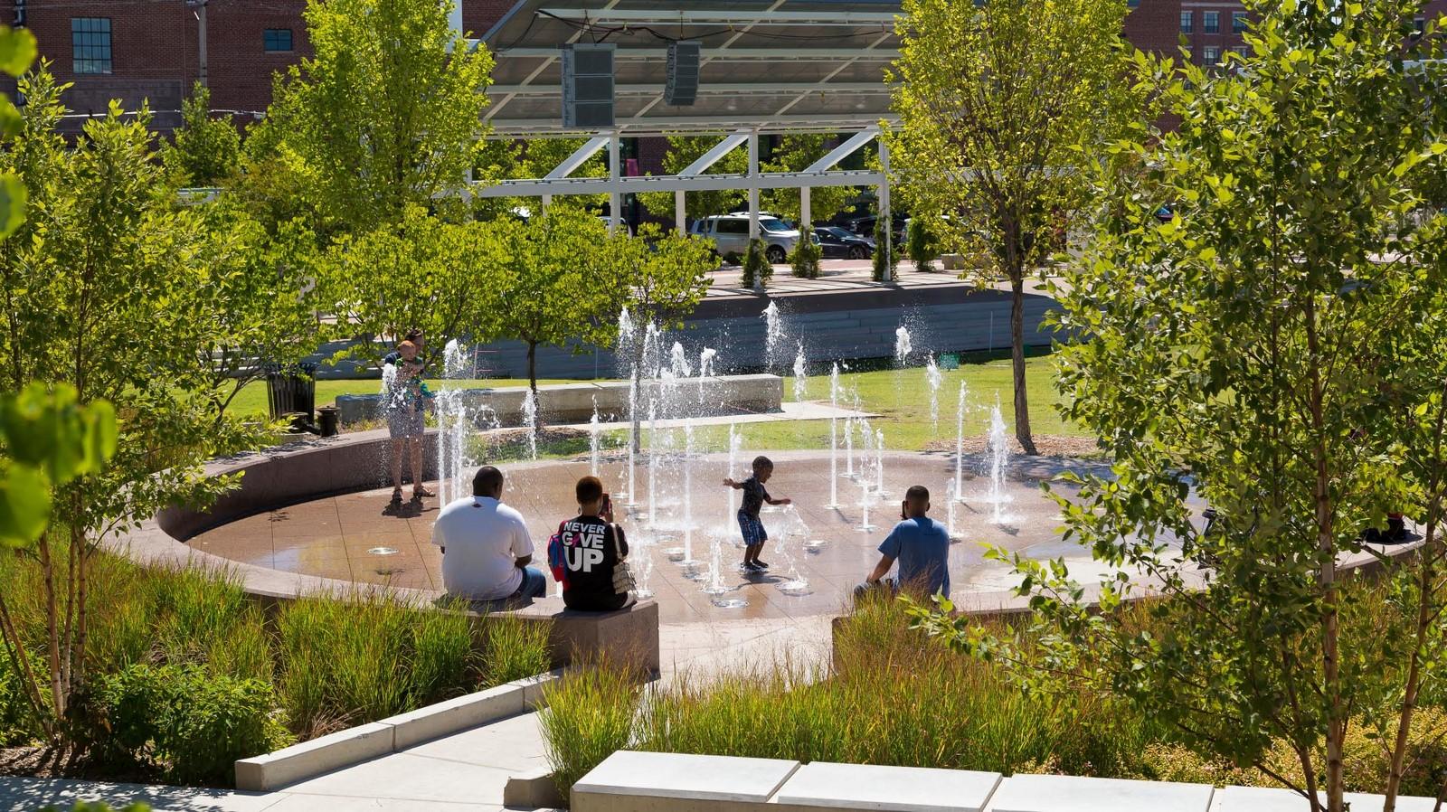 Guthrie Green Urban Park, Tulsa - Sheet3