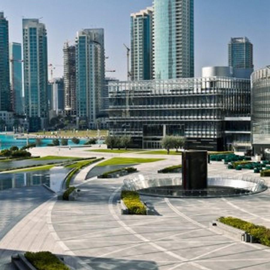 Burj Khalifa Tower Park, Dubai - Sheet3