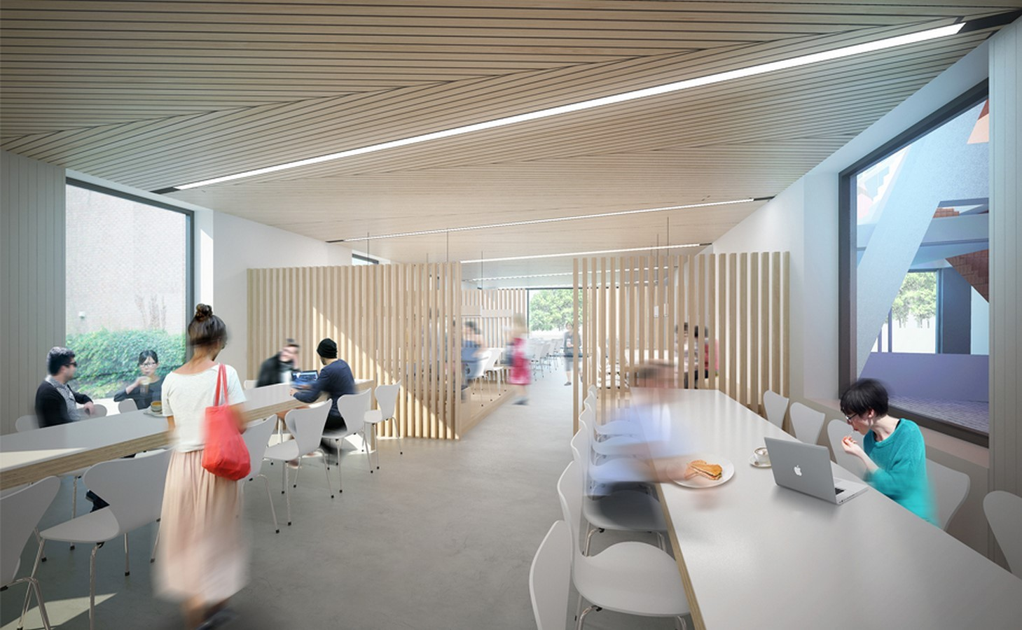 Florey Building, Queens College, Oxford by Avanti Architects - Sheet1
