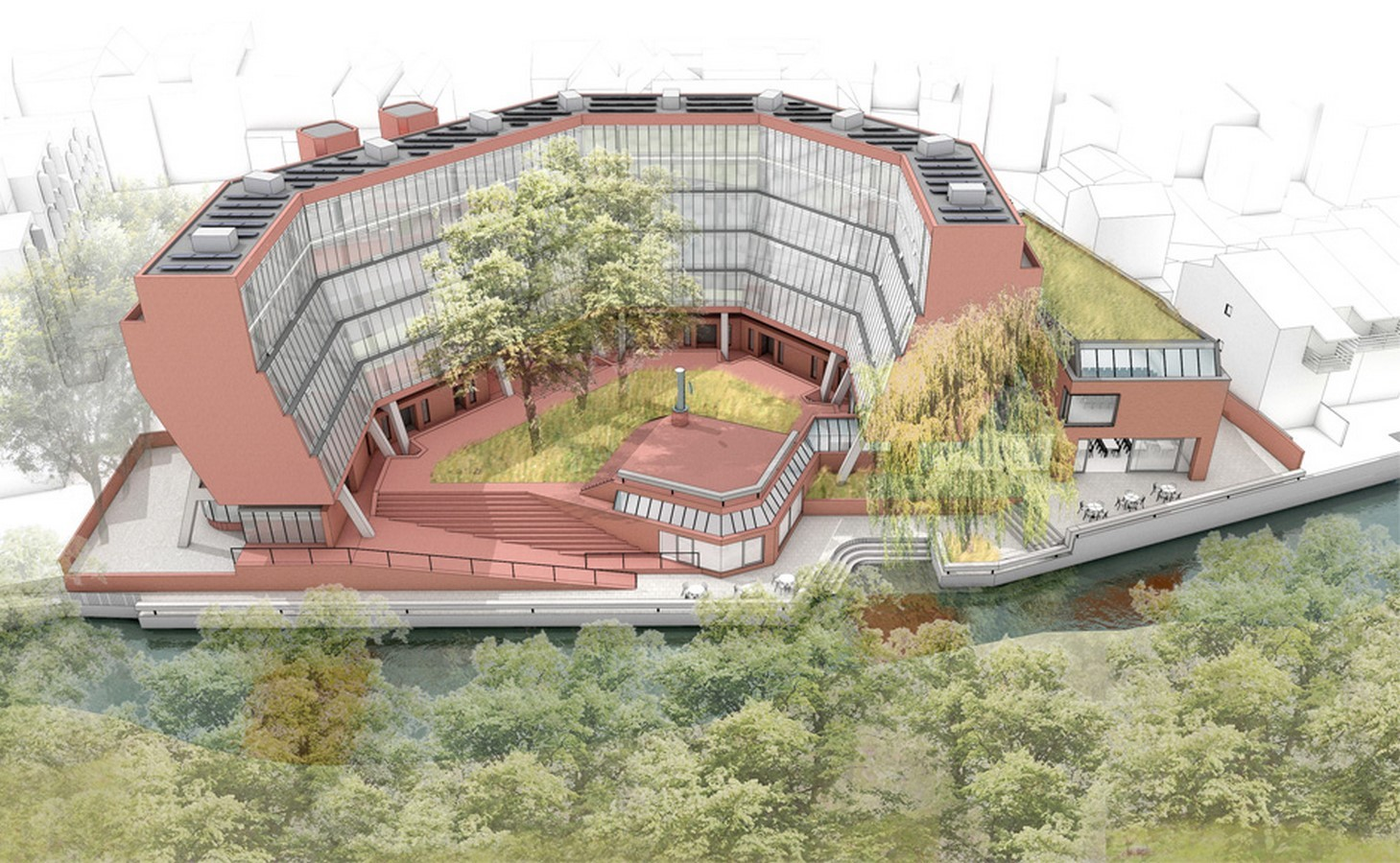 Florey Building, Queens College, Oxford by Avanti Architects - Sheet2