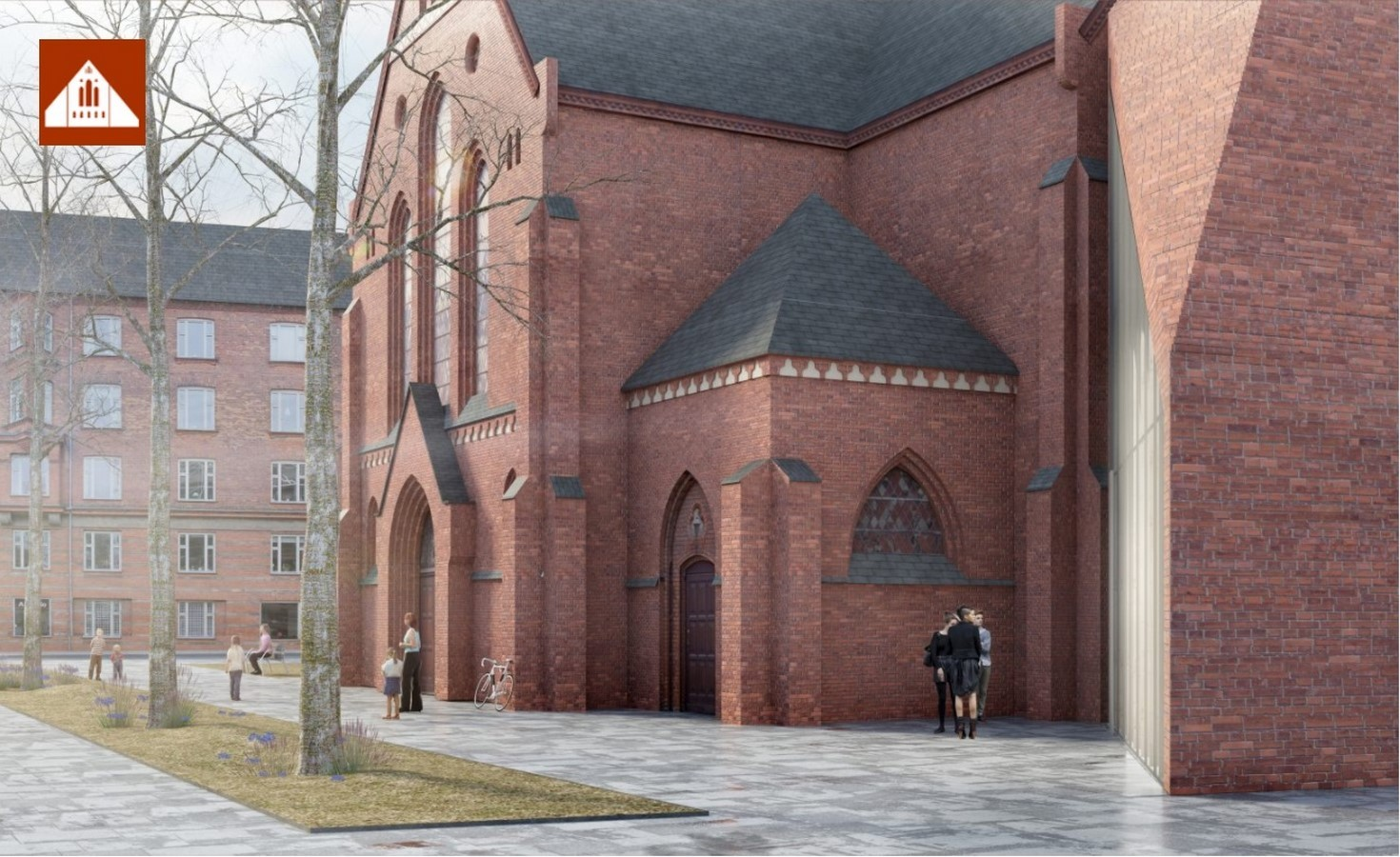 Thorns Church extension by BIG Architects - Sheet1