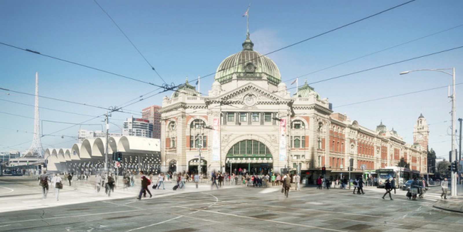 Flinders Street Station by Hassell, Herzog de Meuron, and Purcell Sheet1