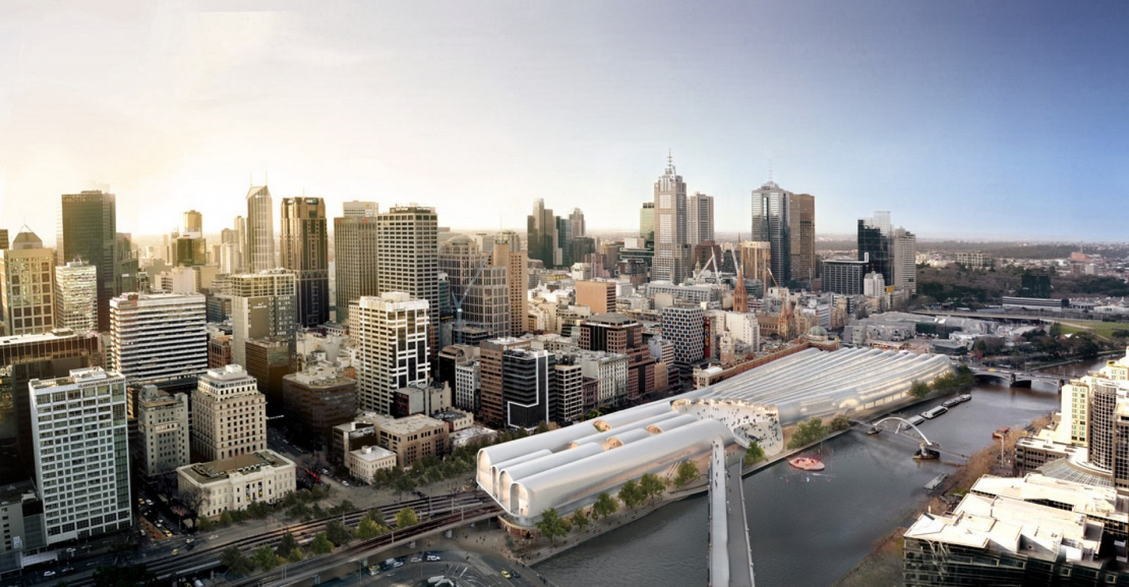 Flinders Street Station by Hassell, Herzog de Meuron, and Purcell Sheet2
