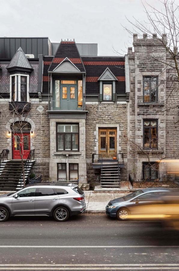 La Doyenne Renovation and Extension, Montreal - Sheet1
