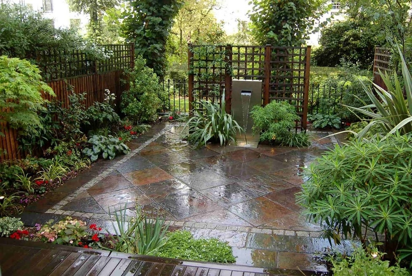Backyard Design - Slate and Steel Design, Notting hill - Sheet2