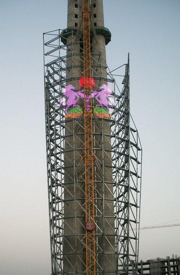 Nigerian Cultural Centre and Millenium Tower by Manfredi Nicoletti: Still Under construction - Sheet2