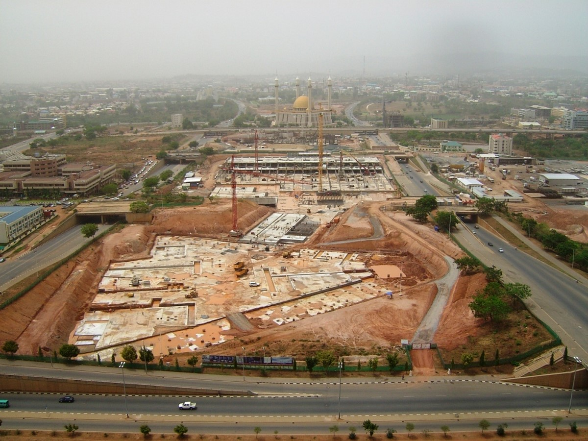 Nigerian Cultural Centre and Millenium Tower by Manfredi Nicoletti: Still Under construction - Sheet7