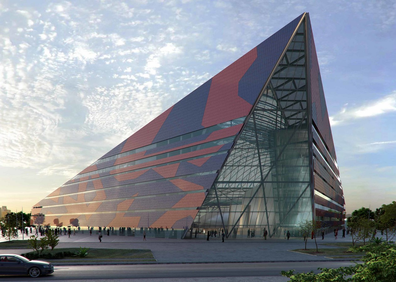 Nigerian Cultural Centre and Millenium Tower by Manfredi Nicoletti: Still Under construction - Sheet8