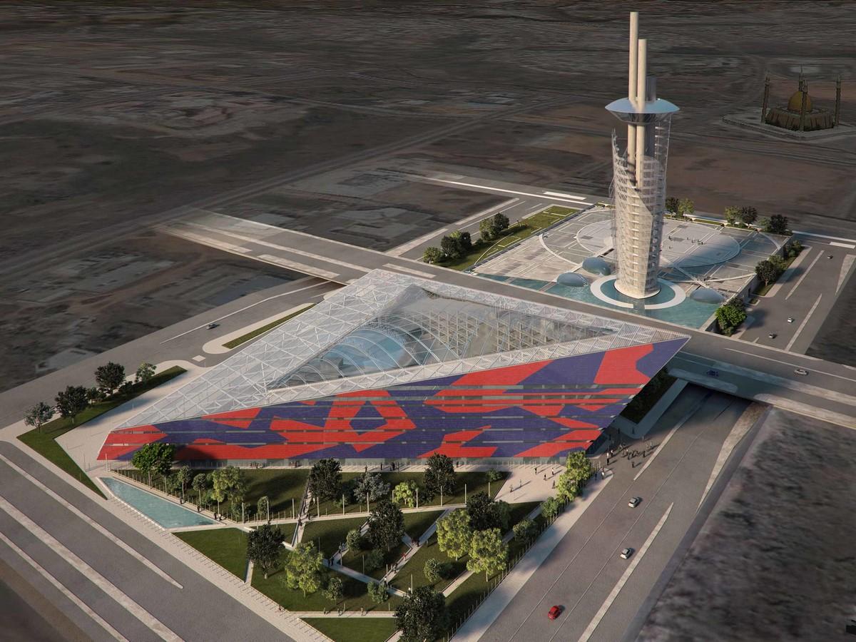 Nigerian Cultural Centre and Millenium Tower by Manfredi Nicoletti: Still Under construction - Sheet9