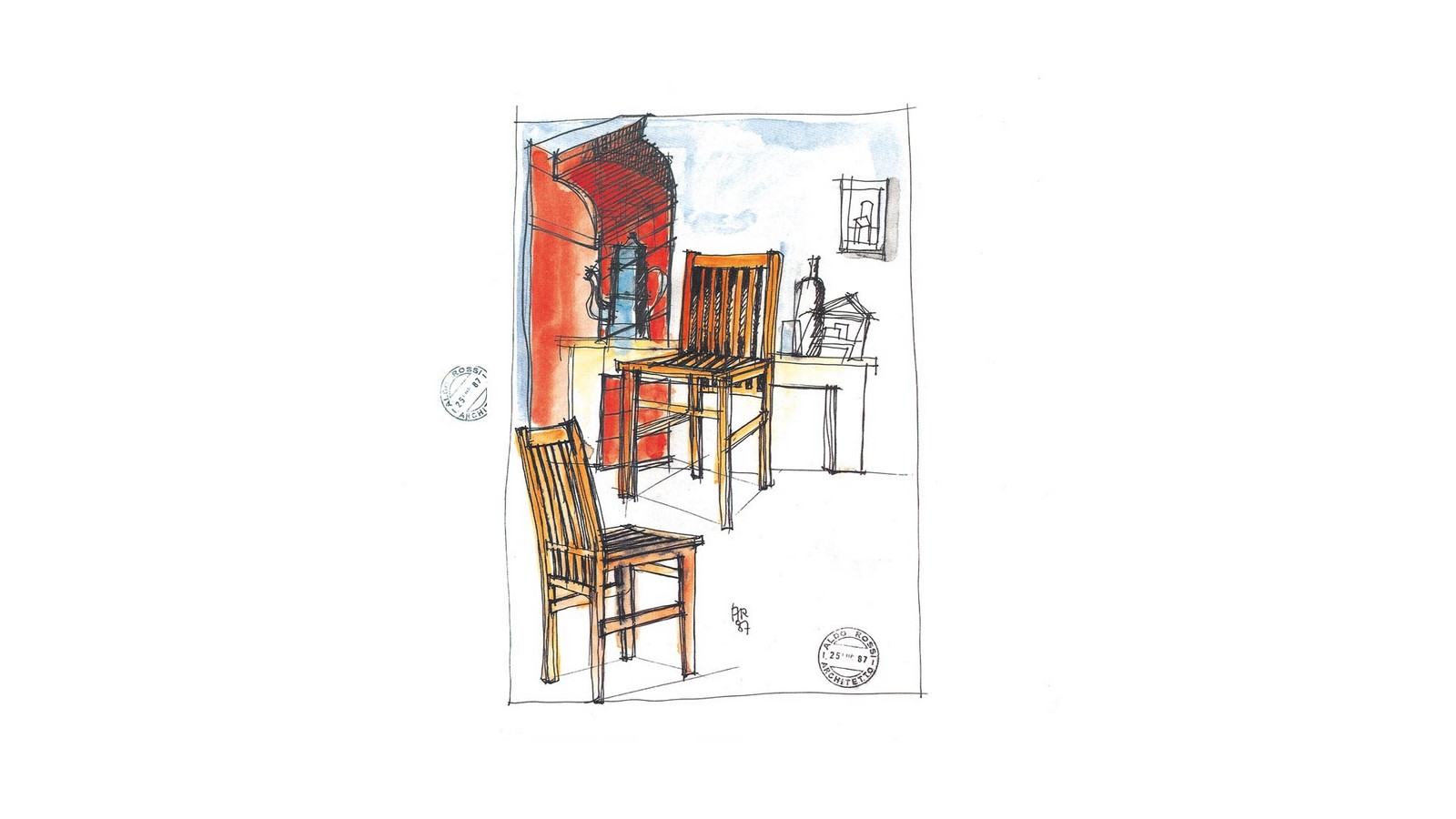 Architectural theoretician: Aldo Rossi - Sheet10