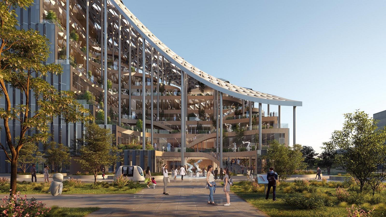Design for Terraced Office Building in Shanghai revealed by MVRDV - Sheet6