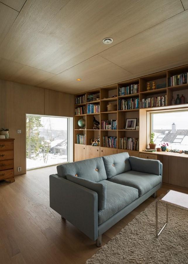 Timber-clad home by Schjelderup Trondahl - Sheet3