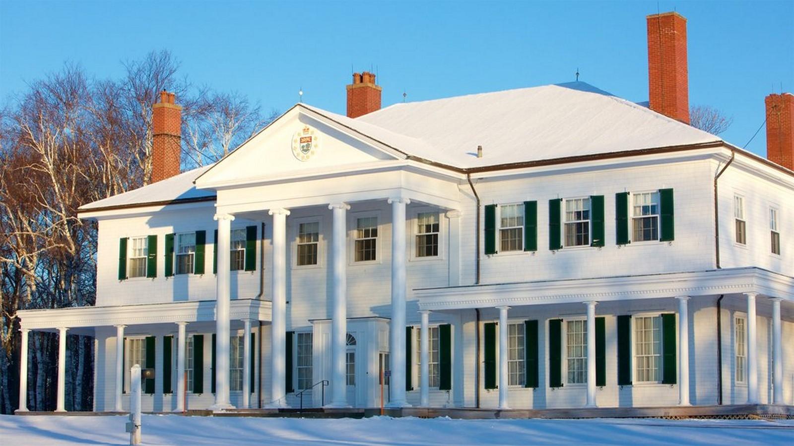Government house of Prince Edward Island, Charlottetown, Canada -Sheet1