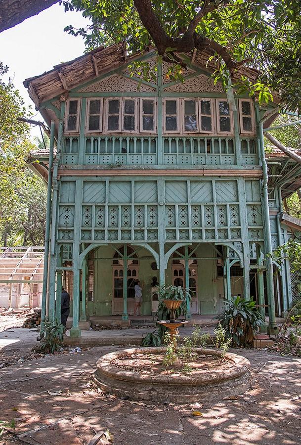 Kipling's bungalow, Mumbai, India - Sheet1