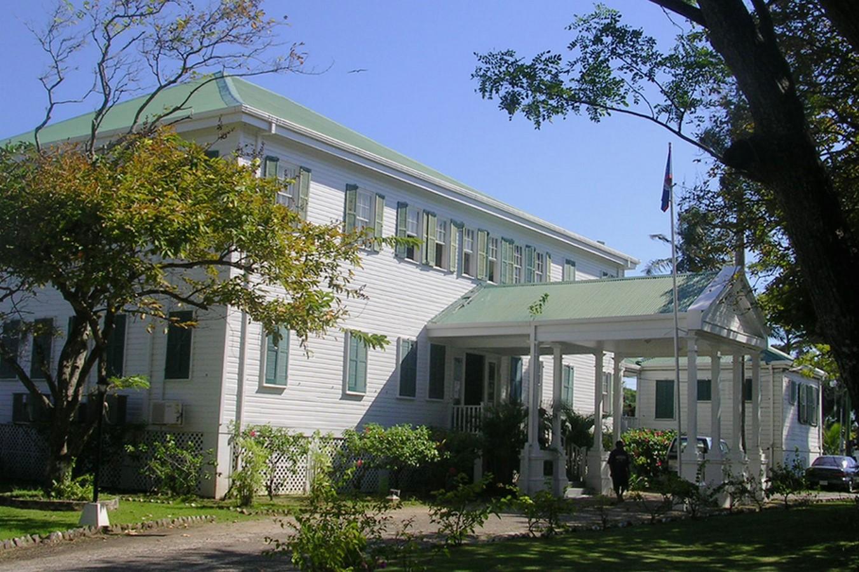 Government House, Belize City, Belize - Sheet1