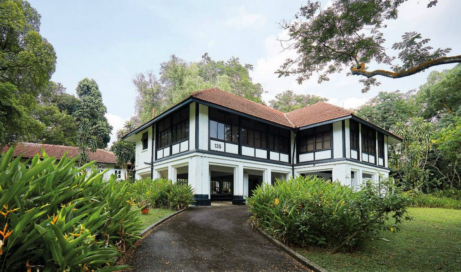 Black and white houses, Adams Park, Singapore - Sheet1