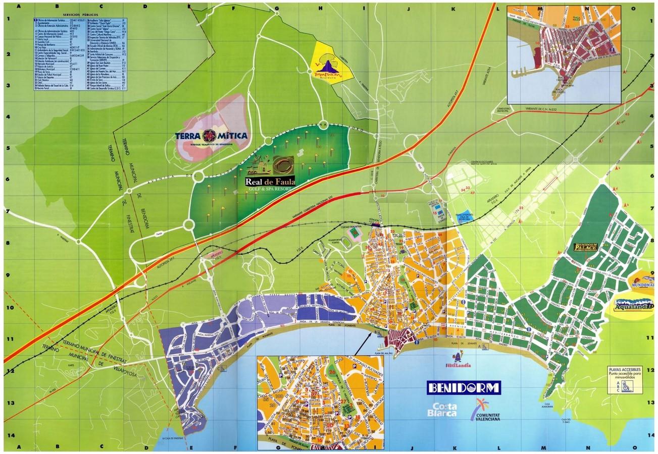 Benidorm, Spain - Sheet1