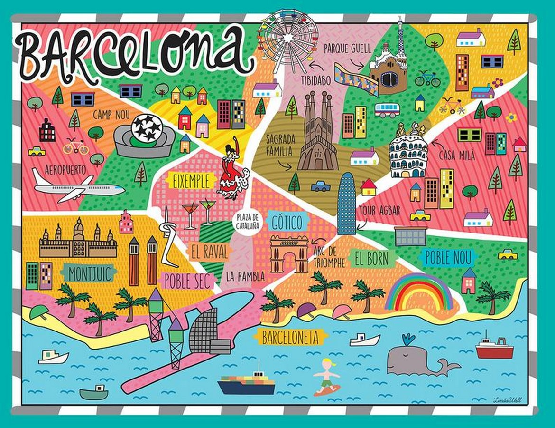 Barcelona, Spain - Sheet1