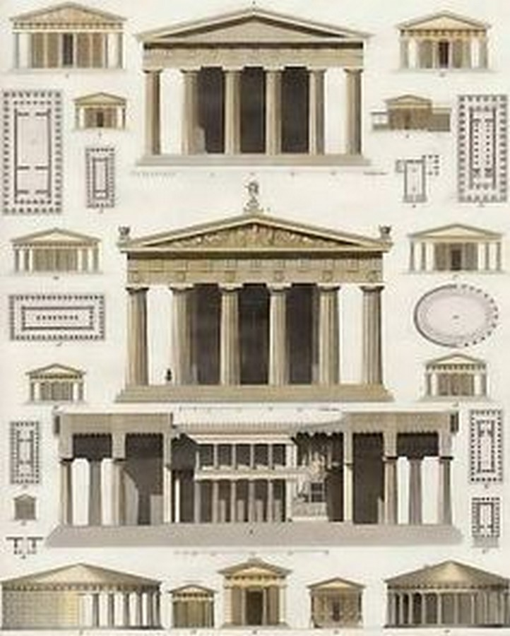 Elements of ancient greek architecture- Sheet1