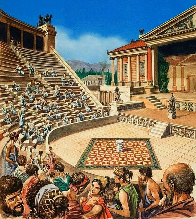 Elements of ancient greek architecture- Sheet8