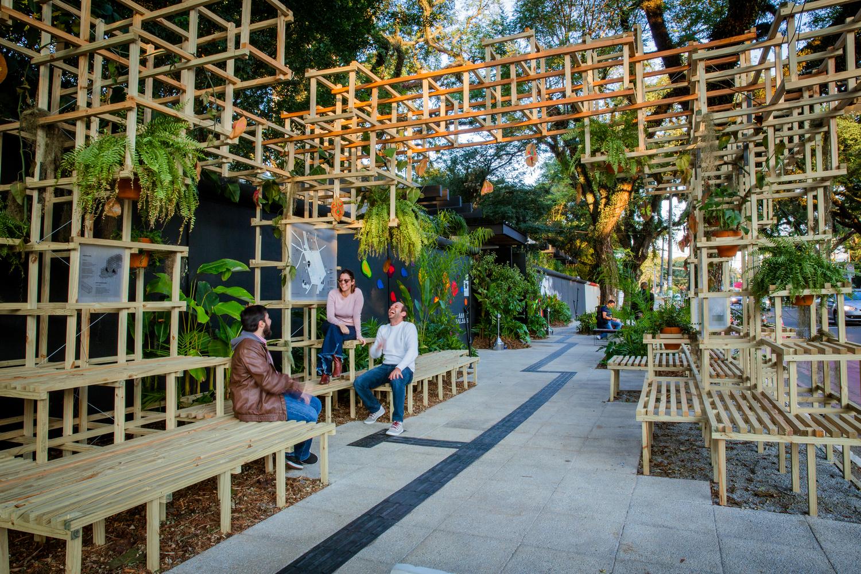 All colors Sidewalk, Jardim Everest, Brazil, Zoom Urbanismo Architects + LAO Engenharia and Design - Sheet1