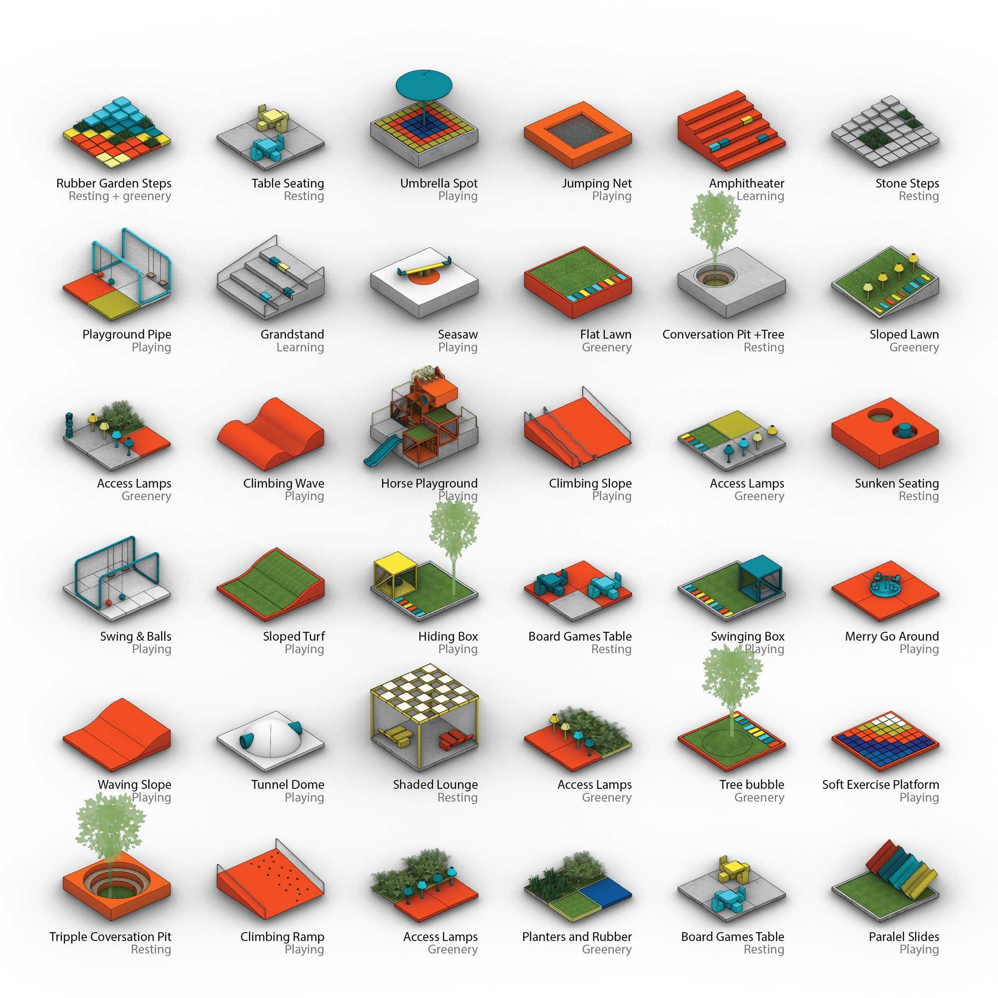 Pixeland, Mianyang, Sichuan Province, China, 100 Architects - Sheet1