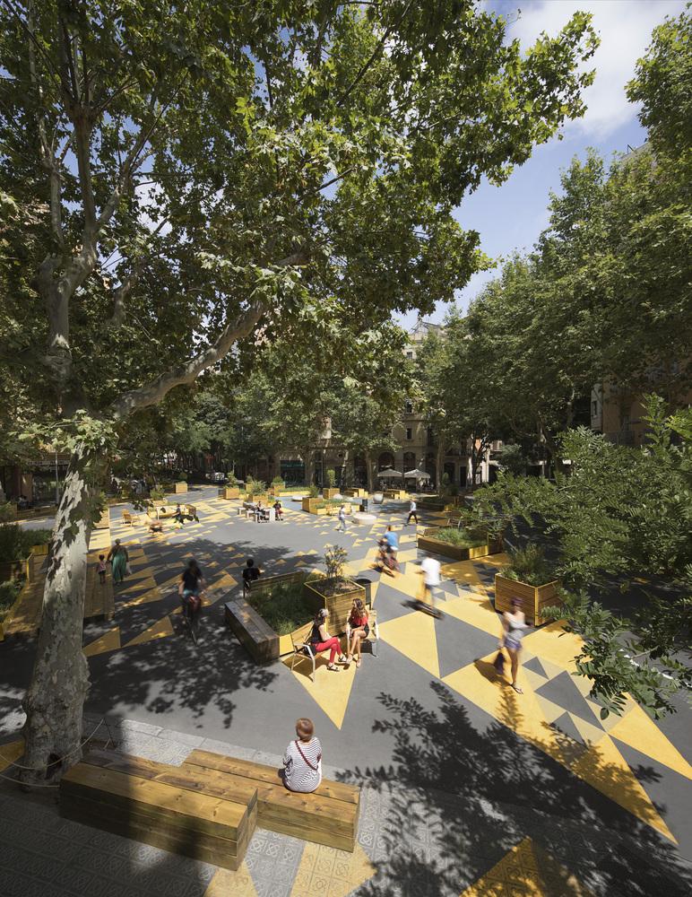 Superblock of Sant Antoni, Barcelona, Leku Studio - Sheet2