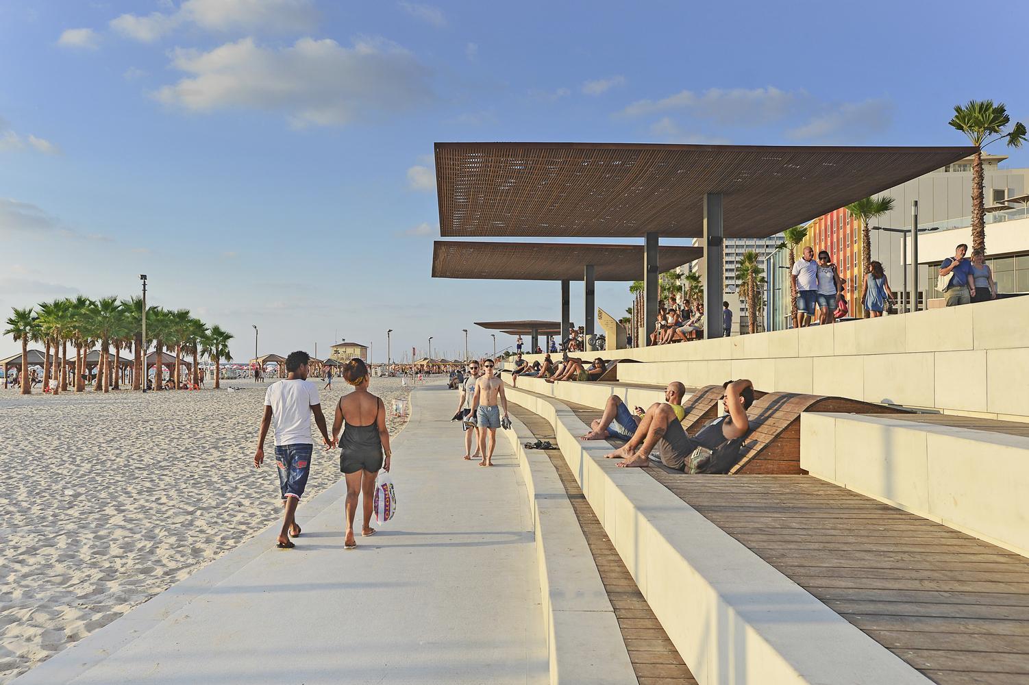 Tel Aviv's Central Promenade Renewal, Tel Aviv, Israel, Mayslist Kassif Architects - Sheet2