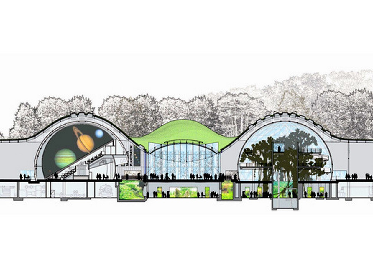 California Academy of Sciences in Golden Gate Park by Renzo Piano: The living roof architecture - Sheet5