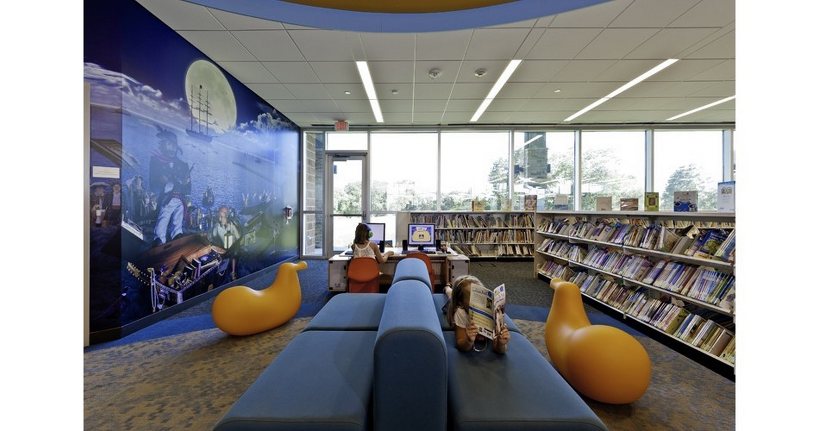 Evelyn Meador Library - Sheet3