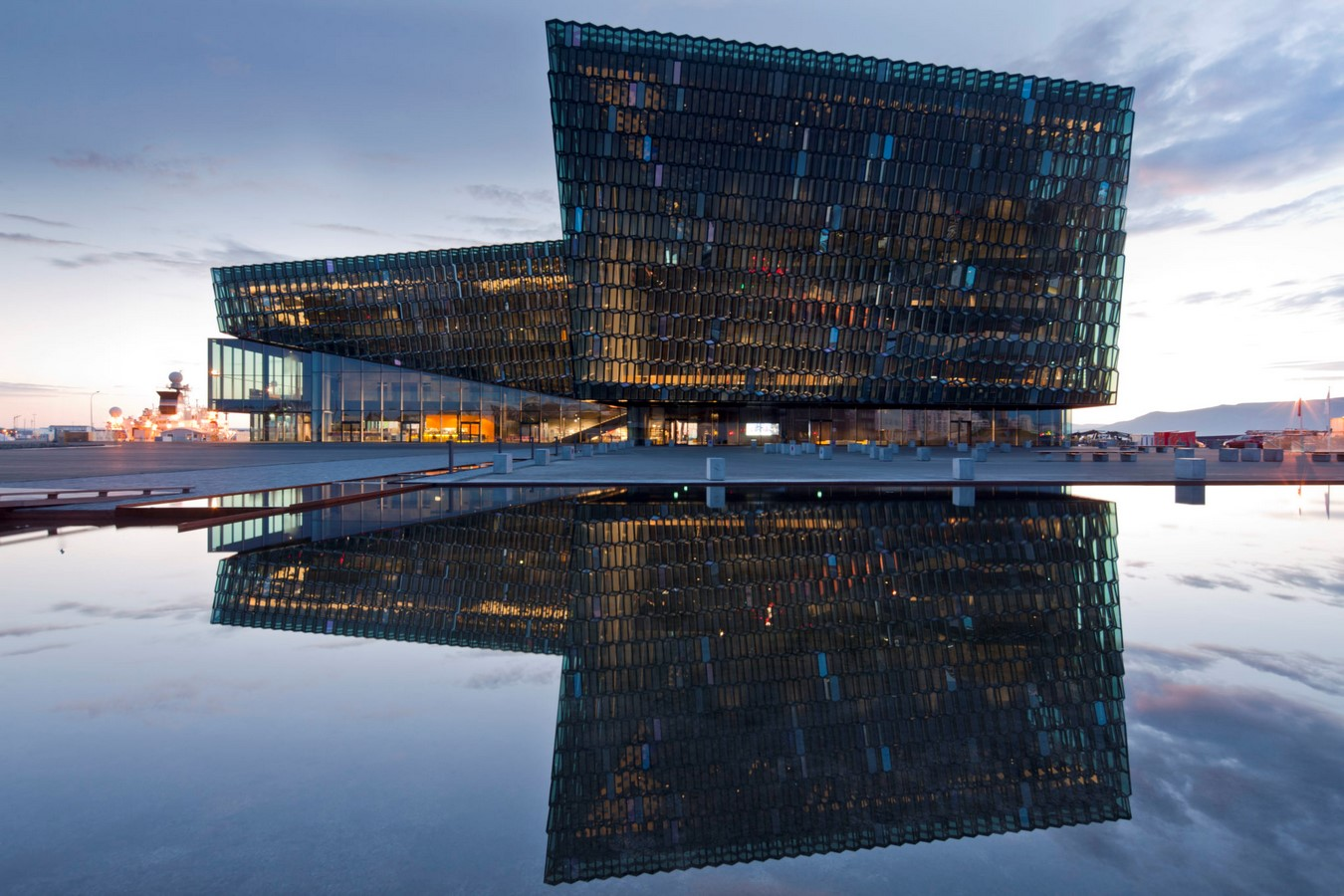 Harpa Concert Hall and Conference Centre by Henning Larsen Architects: Crystal Facade - Sheet1