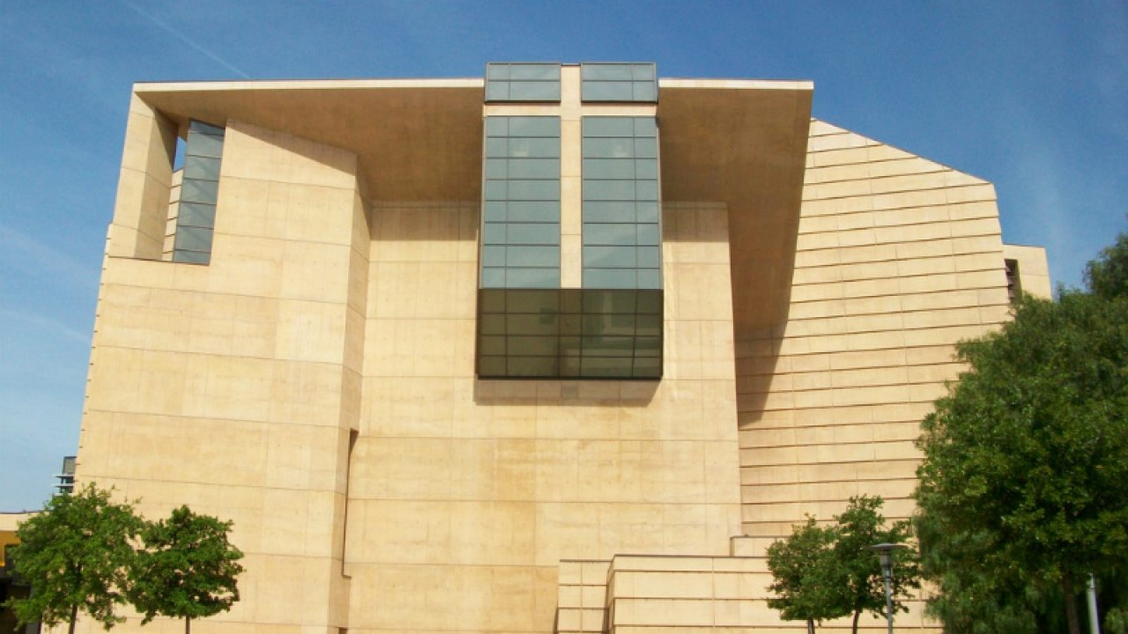 Cathedral of Our Lady of the Angels by Rafael Moneo: A series of acute and obtuse angles - Sheet5