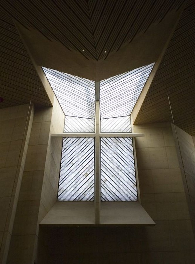 Cathedral of Our Lady of the Angels by Rafael Moneo: A series of acute and obtuse angles - Sheet6